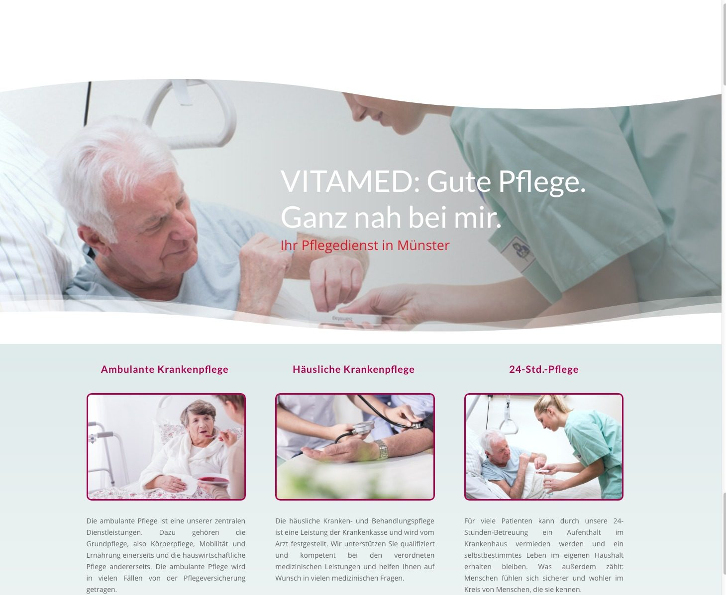 VITAMED Pflegedienst 2016